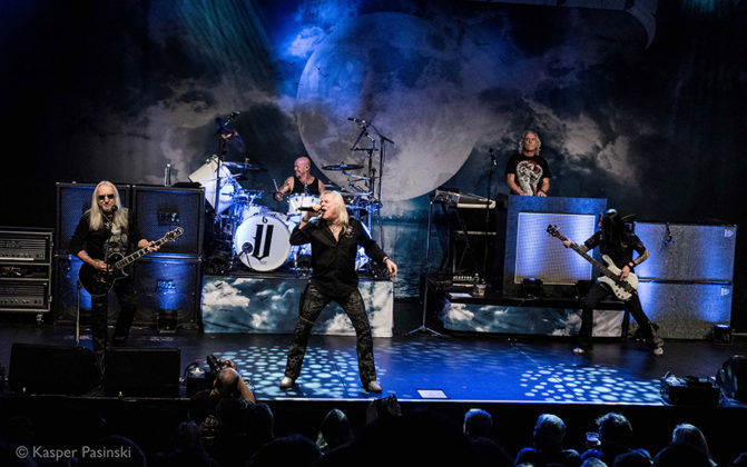 Picture of Uriah Heep in concert with Hard Rock concert photographer Kasper Pasinski