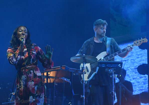 Picture of Szjerdene in concert with the Outlook festival pictures by David Gasson