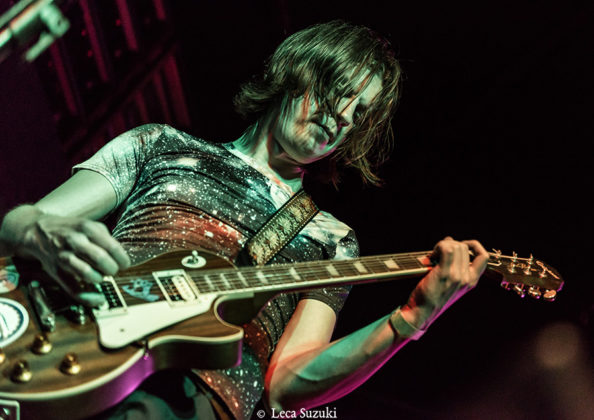 Picture of Samsara Blues Experiment in concert by Brazil concert photographer Leca Suzuki