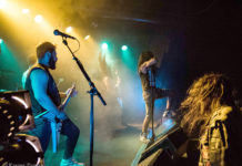 Picture of Bio-Cancer in concert with Thrash metal photography by Denmark photography by Kasper Pasinski