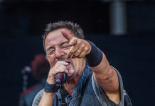 Picture of Bruce Springsteen in concert with Norway Music photography by Per Ole Hagen
