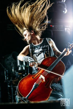 Picture of Apocalyptica in concert by Bulgaria music photographer Stan Srebar