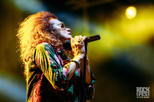 Picture of Glenn Hughes in concert by Bulgaria music photographer Stan Srebar