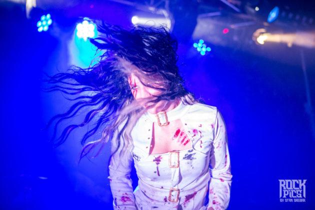 Picture of Cristina Scabbia by Bulgaria music photographer Stan Srebar