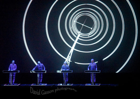 Picture of Kraftwerk in concert by Croatian Music and Pit photographer David Gasson