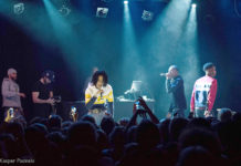 Picture of YBN collective in concert by Denmark Music and Pit photographer Kasper Pasinski