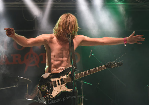 Picture of Dayglo Abortions in concert by Croatian Music and Pit photographer David Gasson