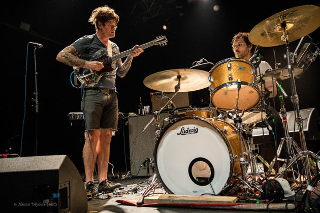 Picture of Oh Sees in concert by England Music and Pit photographer Naomi Dryden-Smith