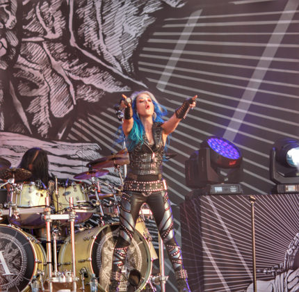 Picture of Arch Enemy in concert by Turkey Music and Pit photographer Lacin Temocin