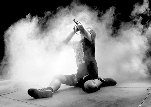 Picture of Scorn in concert by Croatian Music and Pit photographer David Gasson