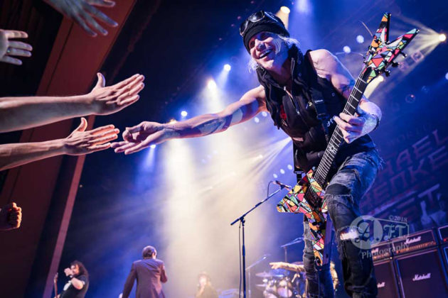Picture of Michael Schenker Fest in concert by Japan Music Photographer Aki Fujita Taguch