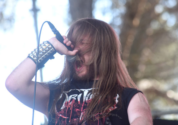 Picture of Repulsive Vision in concert at the GoatHell Metal Fest by Croatian Music and Pit photographer David Gasson