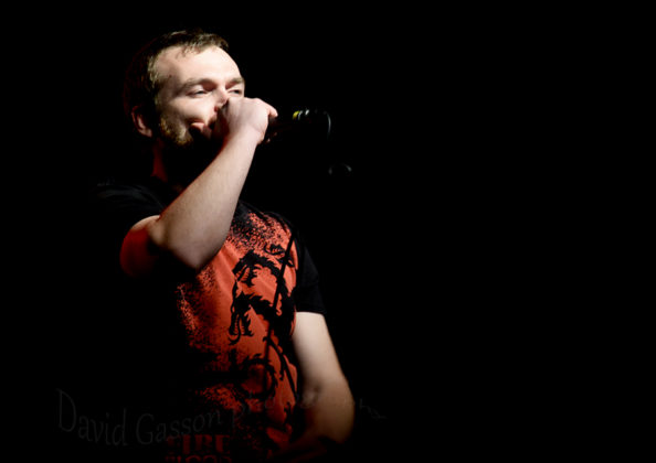 Picture of Mortal Divinity in concert at the GoatHell Metal Fest by Croatian Music and Pit photographer David Gasson