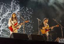 Picture of Angus & Julia Stone in concert by Australia music photographer Deb Kloeden