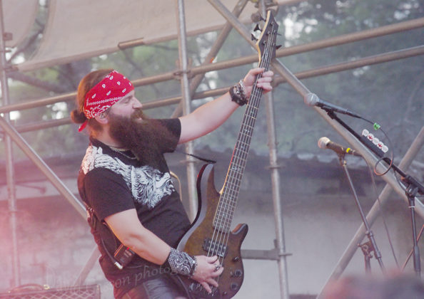 Picture of Scarlet Aura in concert at the GoatHell Metal Festin Pula by Croatian Music and Pit photographer David Gasson