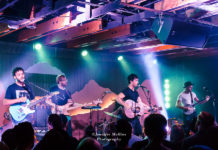 Picture of Jared & The Mill in concert at the Crescent Ballroom by American Music Photographer Jennifer Mullins