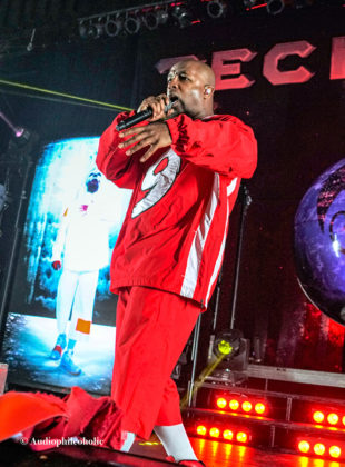 Picture of Techn9ne in concert by American Music Photographer Andrew Perkins