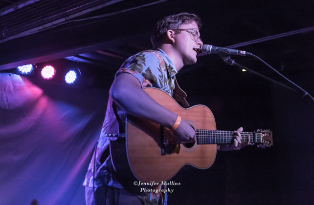 Picture of Dylan Pratt in concert at The Rebel Lounge in Arizona by American MusicPhotographer Jennifer Mullins