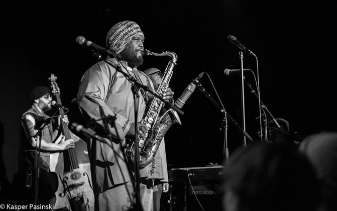 Picture of Kamasi Washington in concert in Denmark by Copenhagen Music and Pit photographer Kasper Pasinski