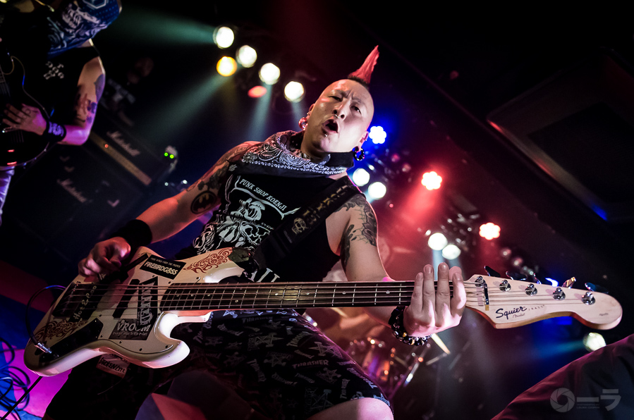 Picture of Broken Life in concert by Japan Music and Pit photographer Laura Cooper