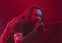 Picture of Goatwhore in concert in America by Texas music Photographer Robert Braden