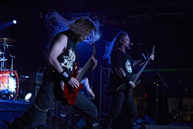 Picture of Morbid Angel in concert at Scout bar, America 17.05.2018 by Texas music photographer Robert Braden