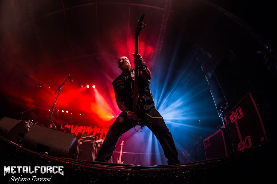 Picture of Exciter at Rockfest Barcelona by Milano music photographer Stefano Forensi