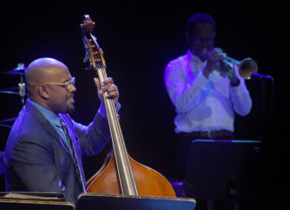Picture of Christian McBride @ The Backstage LiveJazz festival in Pula . Croatia. 09.05.18 by Croatian Music and Pit photographer David Gasson