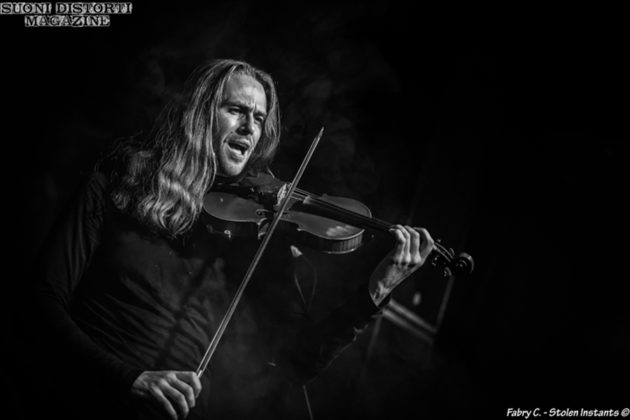 Picture of Ne Obliviscaris in concert at the Dagda Live Club - Pavia ,Italy. by Milan Music and Pit photographer Fabry C ~ Stolen Instants
