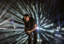 Picture of Parkway Drive in concert in Berlin by Turkey music photographer Lacin Temocin