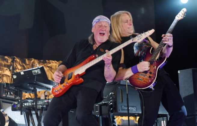 Picture of Deep Purple in concert by David Gasson