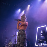 Picture of Raye in concert by Melissa Snape