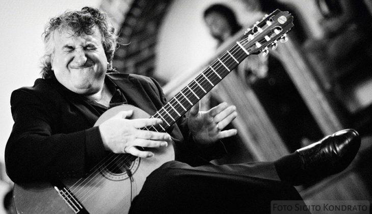 Picture of Eduardo Niebla in concert by Jazz photographer Sigitas Kondratas