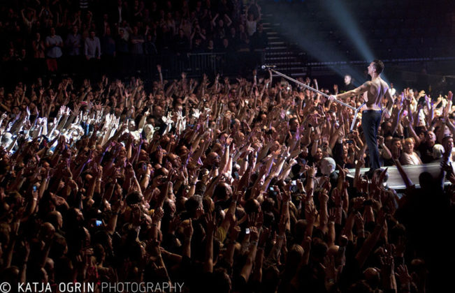 Picture of Depeche Mode in concert by Katja Ogrin