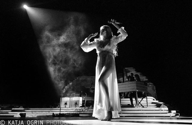 Picture of Florence and The Machine in concert by Katja Ogrin