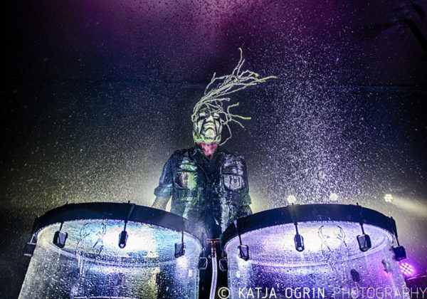 Picture of Mushroomhead in concert by Katja Ogrin