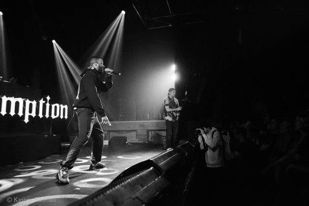 Picture of Jay Rock in concert with photography by Kasper Pasinski