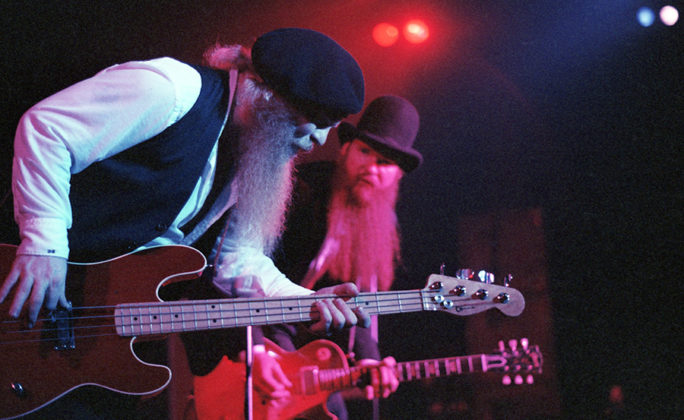 Picture of ZZ Top in concert by Bill O'Leary