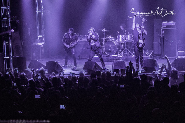 Picture of Last In Line in concert by concert photographer Shannon McElrath