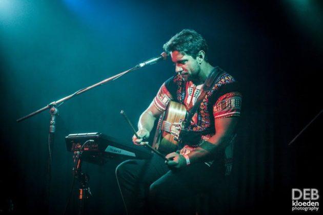 Picture of Animal Ventura in concert by Deb Kloeden