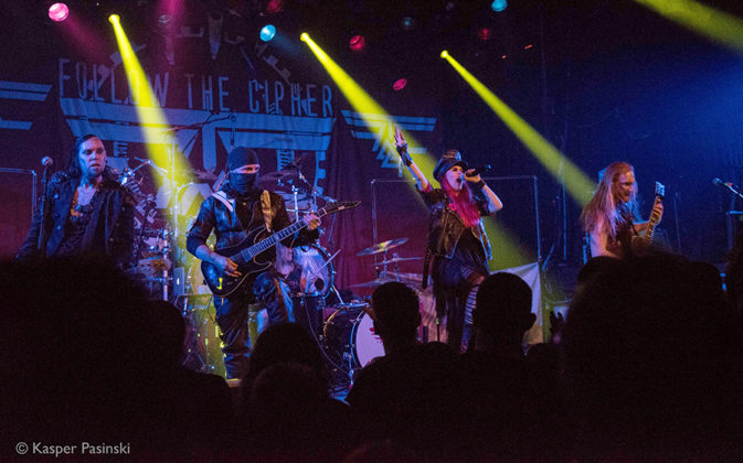 Picture of Follow The Cipher in concert taken by Kasper Pasinski