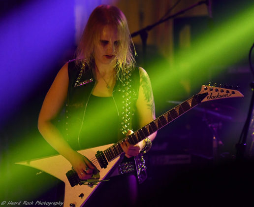 Picture of Tyranex in concert with photography by Lennart Håård