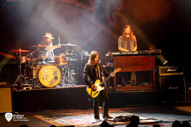 Picture of Blackberry Smoke in concert by music photographer Trees Romellaere
