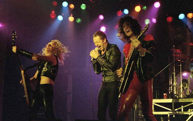Picture of Judas Priest in concert by Bill O'Leary