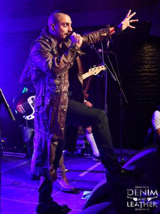 Picture of Lagerstein in concert in Sweden taken by Lennart Håård