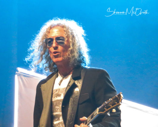 Picture of the rock band Foreigner in concert by music photographer Shannon McElrath
