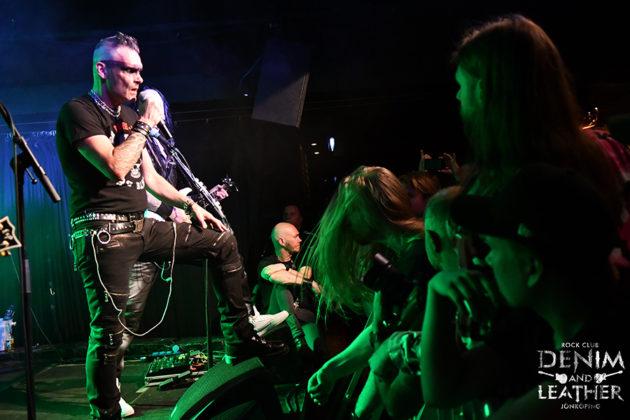 Picture of Dream Evil in concert by Lennart Håård