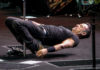 Picture of Bruce Springsteen in concert taken by the American music photographer Ron Valle