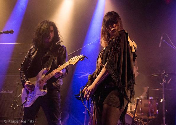 Picture of Black Mirrors in concert in Denmark taken by the music photographer Kasper Pasinski