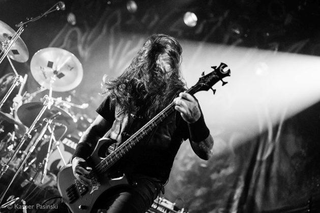 Picture of Krisiun in concert taken in Denmark by the music photographer Kasper Pasinski